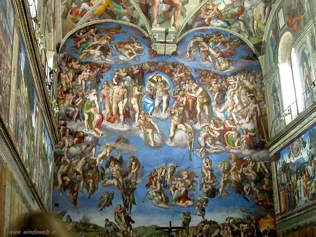 La Cappella Sistina fu dipinta da unoscultore
