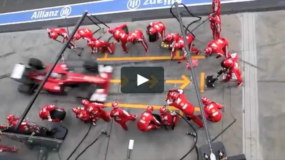 Il margine/ora (seconda parte): un cambio gomme da Formula1